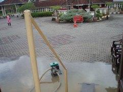 Kawasan Istana Kering, cuma air resapan